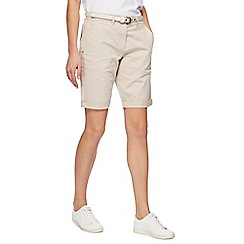 Maine New England - Natural chino shorts