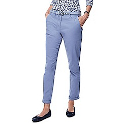 Maine New England - Light blue belted chinos