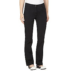 Maine New England - Black two way stretch trousers