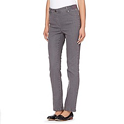Maine New England - Grey ribbed waist jeggings