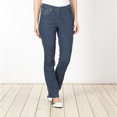 Maine New England - Blue straight leg jeans
