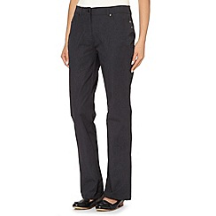 Maine New England - Grey two way stretch trousers