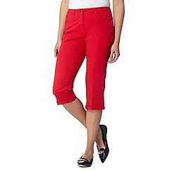 Maine New England - Red cropped two way trousers