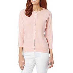 Maine New England - Pale pink ultra soft cardigan