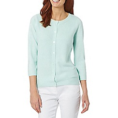 Maine New England - Pale green ultra soft cardigan