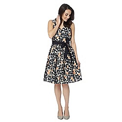 Maine New England - Navy hawaiian dress