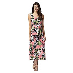 Maine New England - Bright pink jersey maxi dress