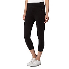 Maine New England - Black comfort cropped leggings