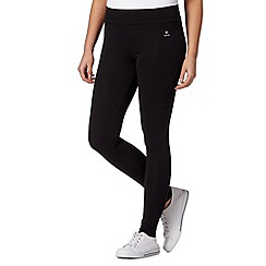 Maine New England - Black plain comfort leggings