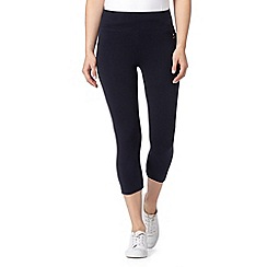 Maine New England - Navy slim leg capri pants