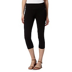 Maine New England - Black cropped slim fit leggings