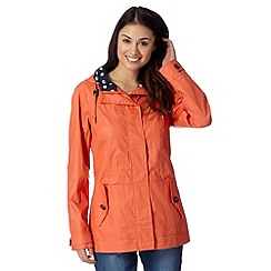 Maine New England - Orange yachting jacket