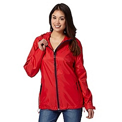 Maine New England - Red hideaway mac jacket