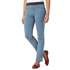 Maine New England - Light blue five pocket jeggings