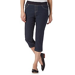 Maine New England - Dark blue cropped jeggings