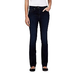Maine New England - Dark wash shape and shift slim jeans