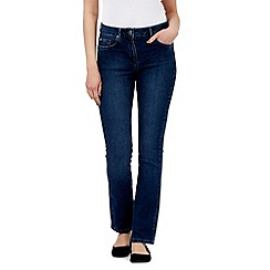 Maine New England - Mid blue shape and shift slim jeans