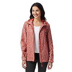 Maine New England - Dark orange leaf hideaway mac jacket