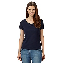 Maine New England - Navy scoop neck t-shirt