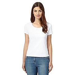Maine New England - White scoop neck t-shirt