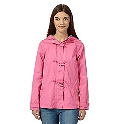 Maine New England - Pink toggle fastening jacket