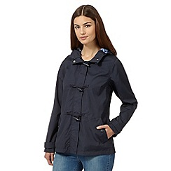 Maine New England - Navy toggle fastening jacket