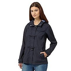 Maine New England - Navy toggle fastening jacket
