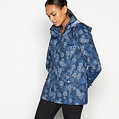 Maine New England - Navy shower resistant parka jacket