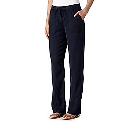 Maine New England - Navy soft trousers