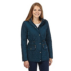 Maine New England - Green quilted coat