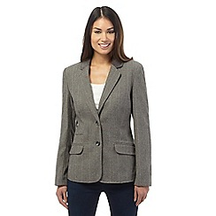 Maine New England - Grey checked blazer