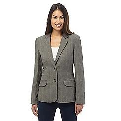 Maine New England - Grey checked blazer