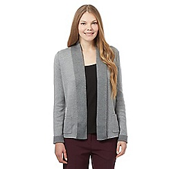 Maine New England - Grey double edge cardigan