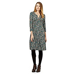Maine New England - Green ditsy dot dress