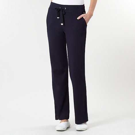 Maine New England - Navy slouch jogging bottoms