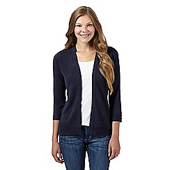 Maine New England - Navy soft edge to edge cardigan