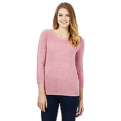 Maine New England - Light pink ultra soft jumper