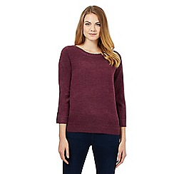 Maine New England - Purple ultra soft jumper