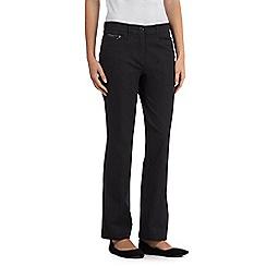 Maine New England - Dark grey two-way stretch trousers