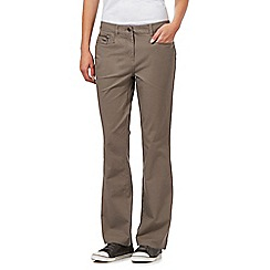 Maine New England - Taupe bi-stretch jeans
