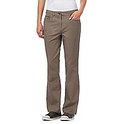 Maine New England - Taupe bi-stretch jeans