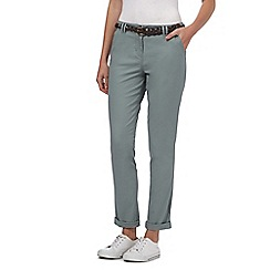 Maine New England - Light green belted chinos
