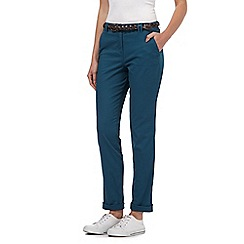 Maine New England - Turquoise belted chinos