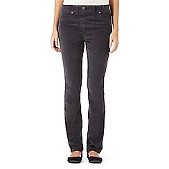 Maine New England - Dark grey cord jeggings