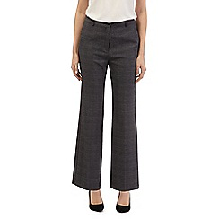Maine New England - Grey checked smart trousers