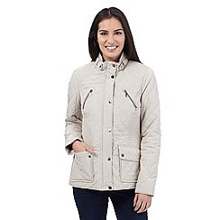 Maine New England - Cream quilted jacket