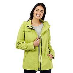 Maine New England - Lime shower resistant jacket