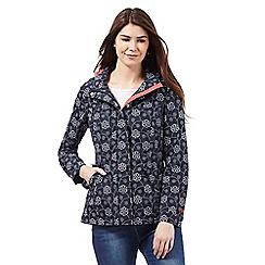 Maine New England - Navy fleece lined jacket