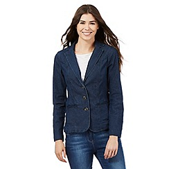 Maine New England - Blue denim blazer