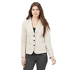 Maine New England - Cream blazer jacket
